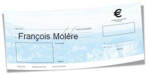 cheque Francois Molere