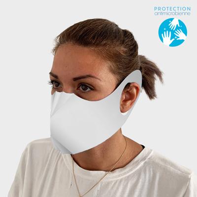 masque papier vierge