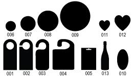 formes de découpe flyer